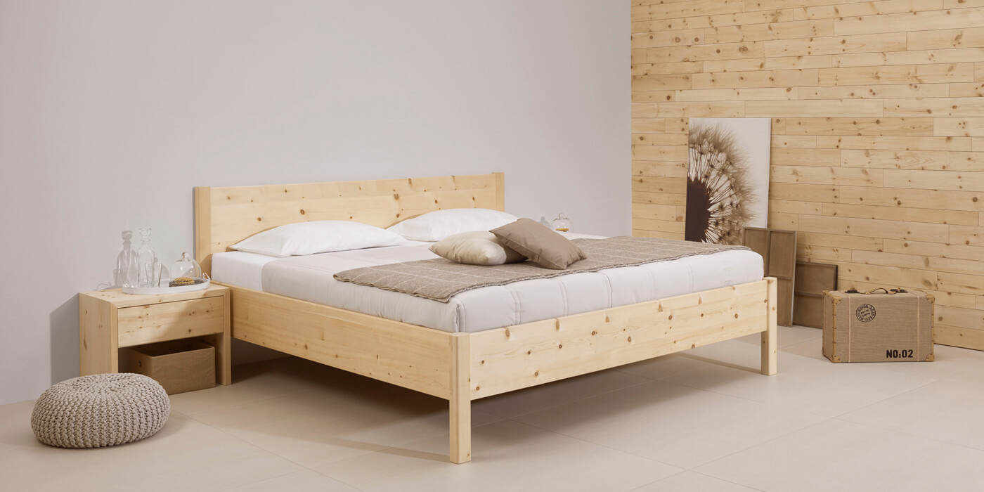 With Our Natura Sleeping System From Purely Natural Materials You Will Sleep Like A Baby The Frame Made Movable Stone Pine Discs Adjusts Precisely